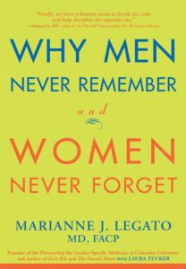 Why Men Never Remember And Women Never Forget By Marianne J. Legato